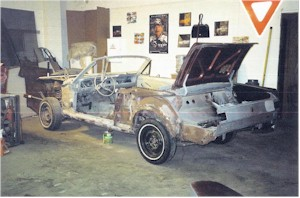 This '66 Mustang was totally torn down and rebuilt from the ground up.